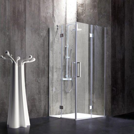 Wie wird die Duschkabine gemessen?